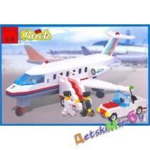 """Конструктор (Brick) """"Самолет с трапом, машинка"""""""